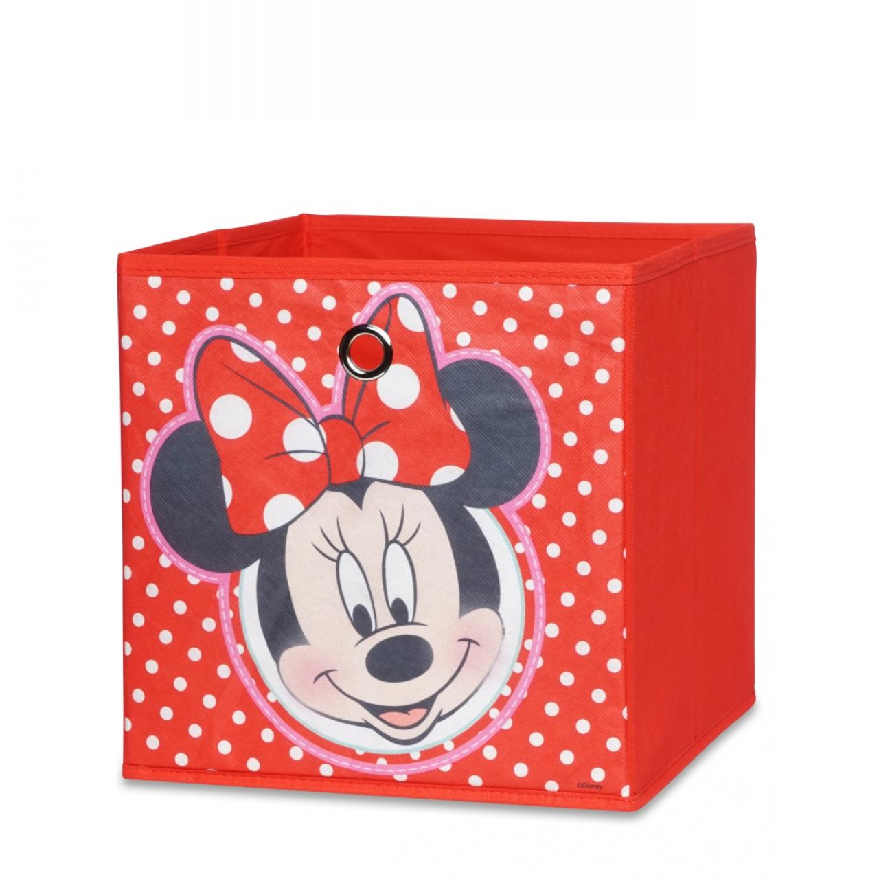 Faltbox Minnie Mouse - Motiv D - rot
