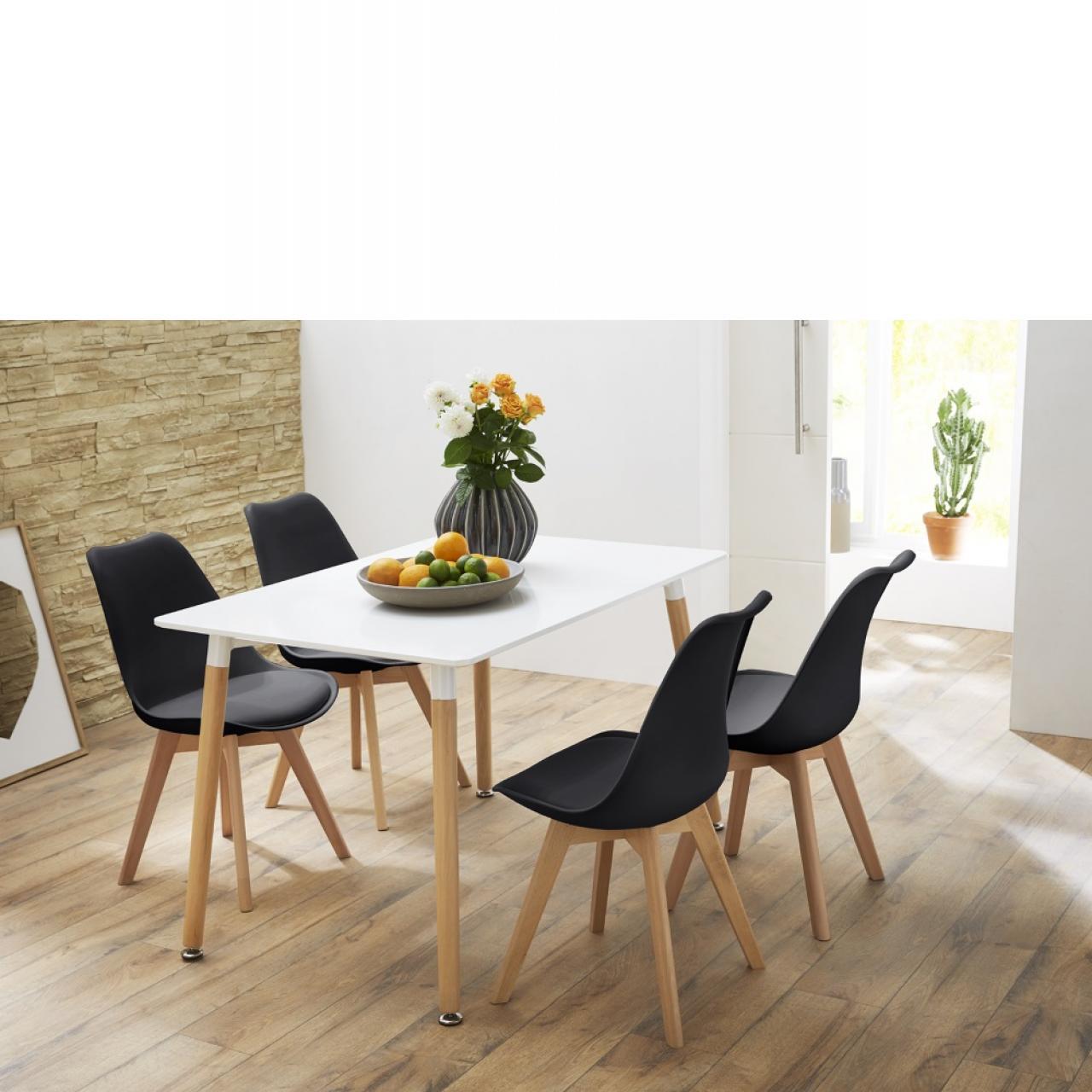Beeindruckend Tisch Esszimmer Galerie Von Grönland In Buche Weiß 80x120