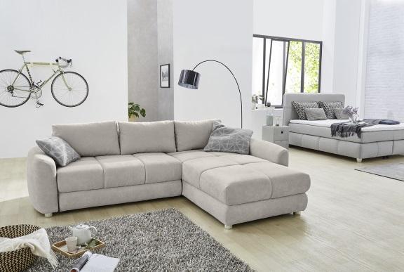 Wohnlandschaft Cremona Couch Polstergarnitur Sofa Couchgarnitur