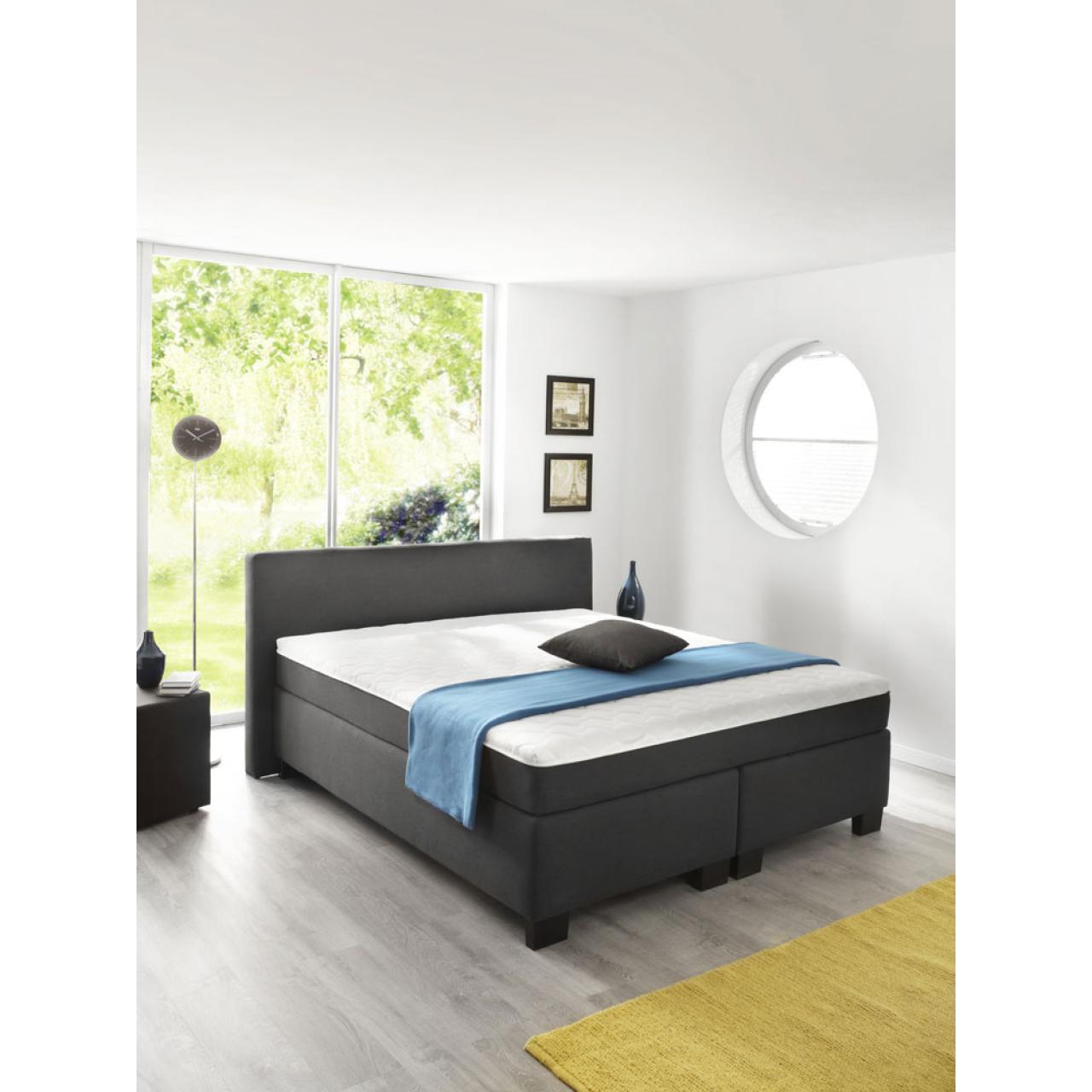 boxspringbett bx290 180x200 cm boxspringbett betten schlafen m bel j hnichen center gmbh. Black Bedroom Furniture Sets. Home Design Ideas