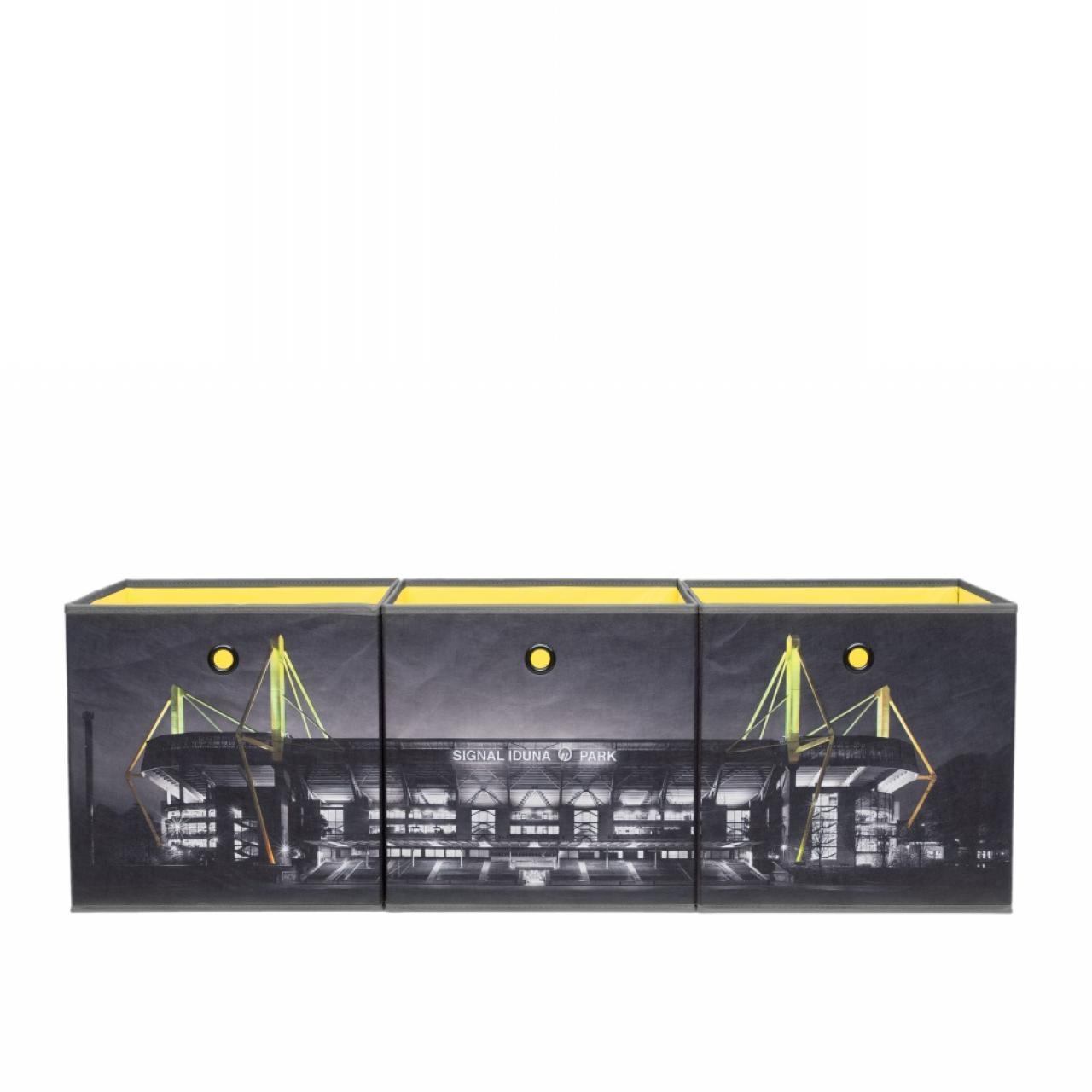 Faltbox-Set - Signal Iduna Park - Borussia Dortmund - 3er Set