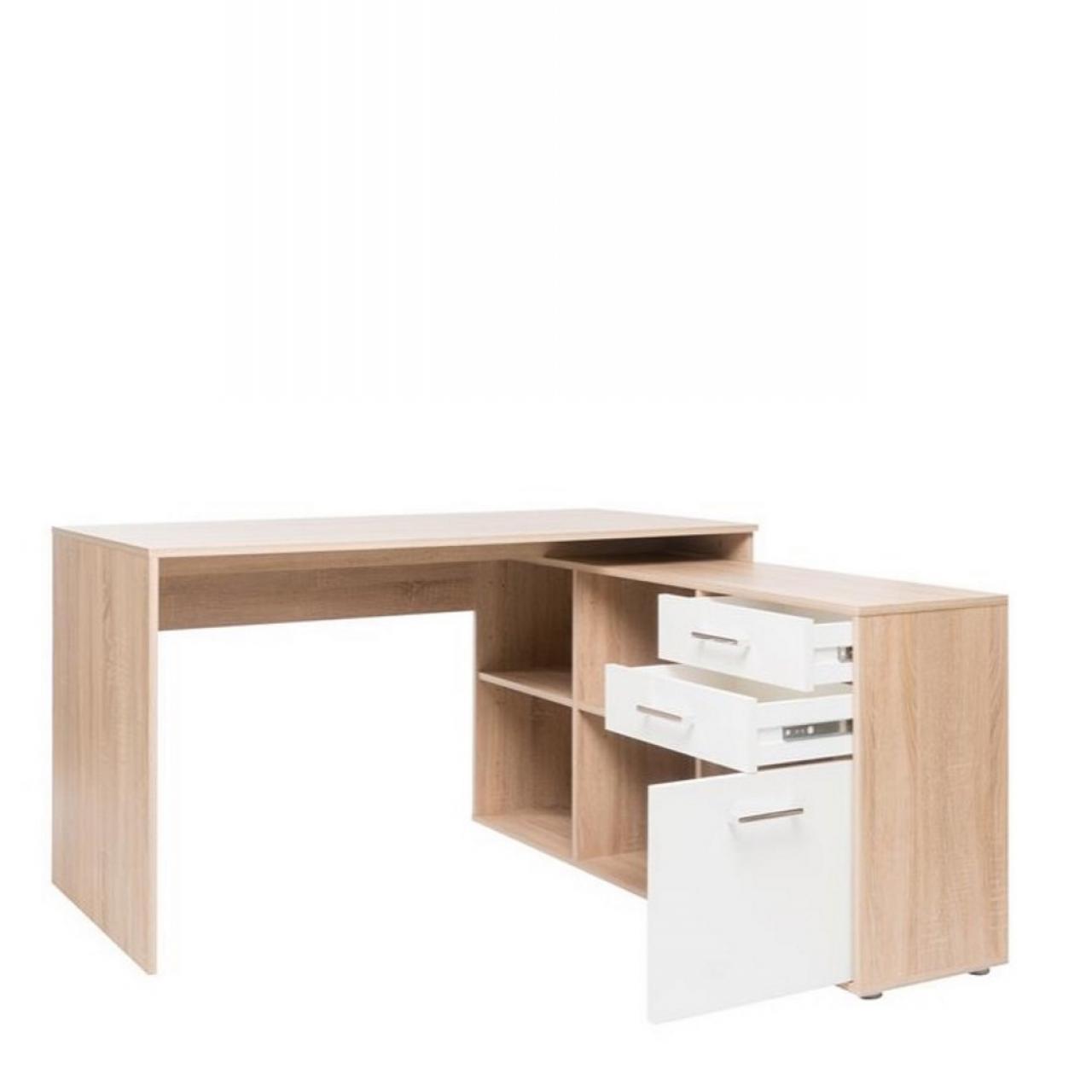 schreibtisch london wei sonoma eiche schreib computertische b ro m bel j hnichen. Black Bedroom Furniture Sets. Home Design Ideas