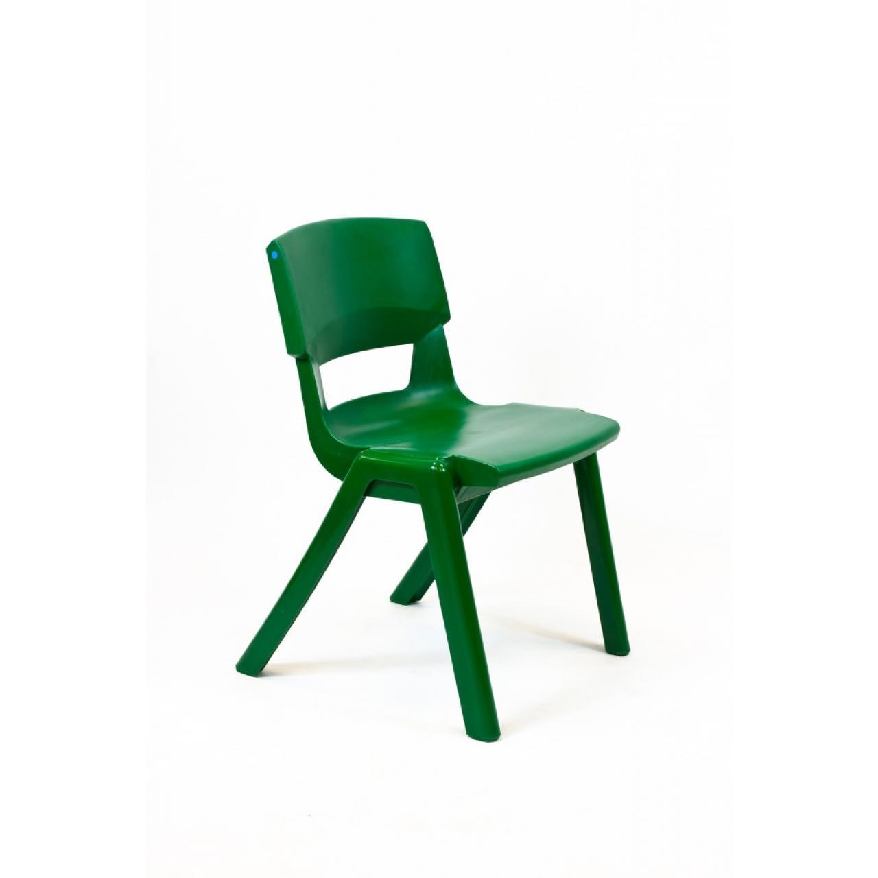 Stapelstuhl Postura grün robust pflegeleicht Kunststoff In- & Outdoor 20 Jahre Garantie