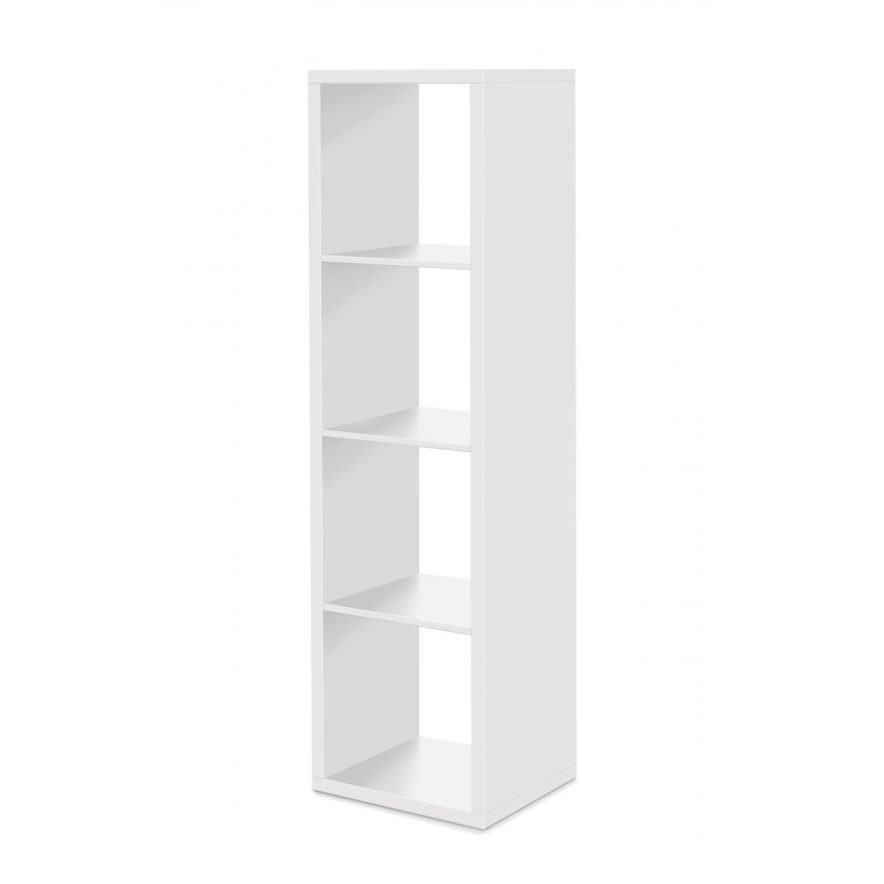 Regal Max 4er Raumteiler in weiß