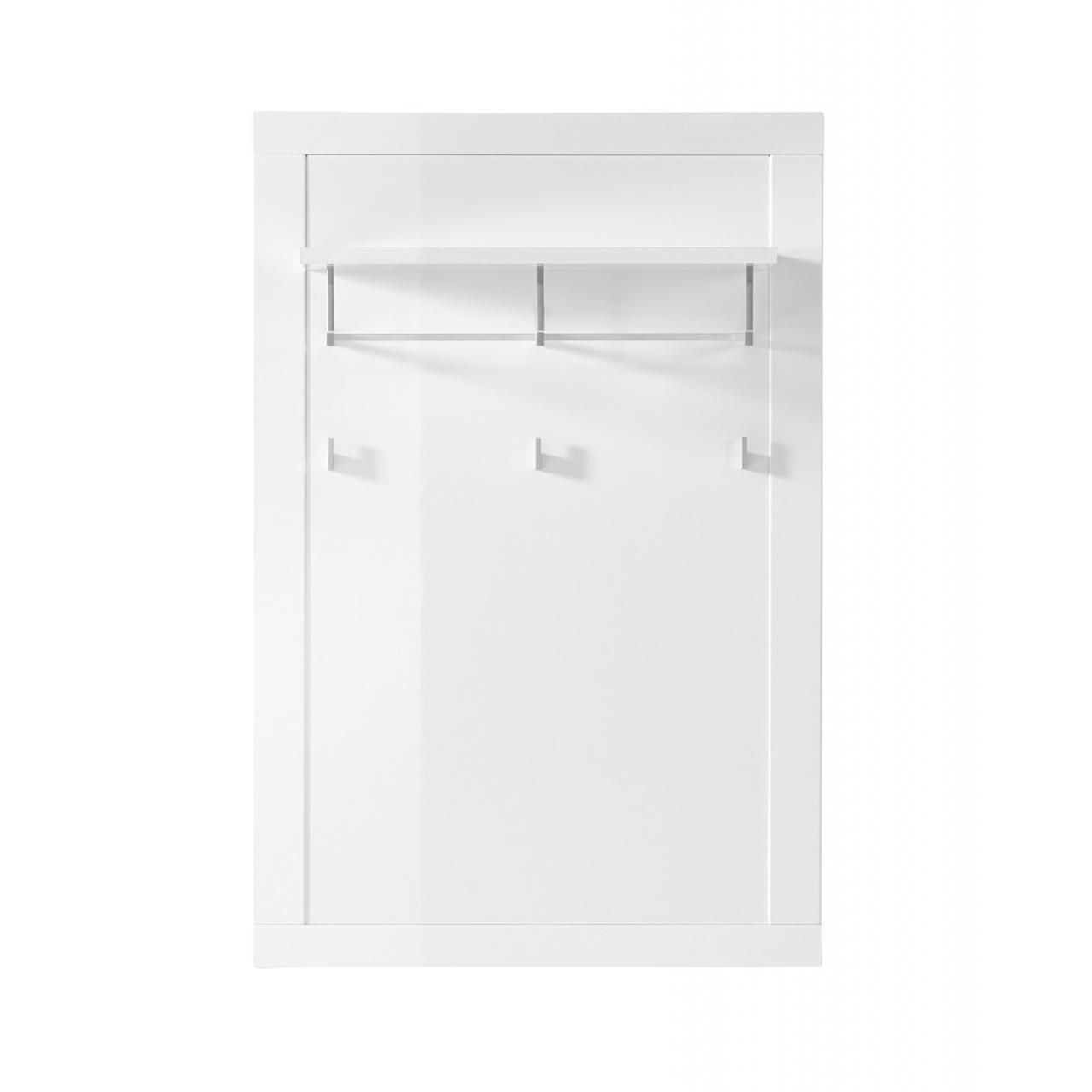 Garderobenpaneel Juno - Weiß