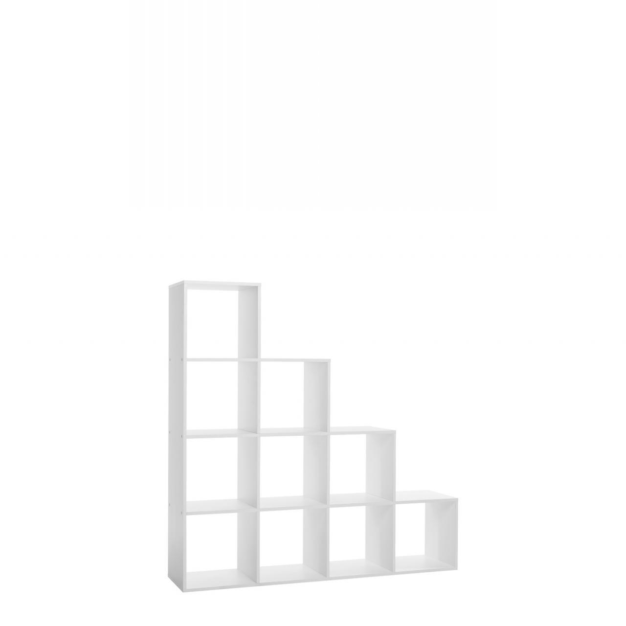 Stufenregal Udine 2 Weiß