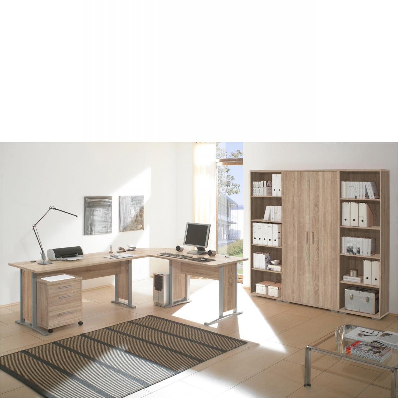 Regalwand Office Line - Sonoma Dekor