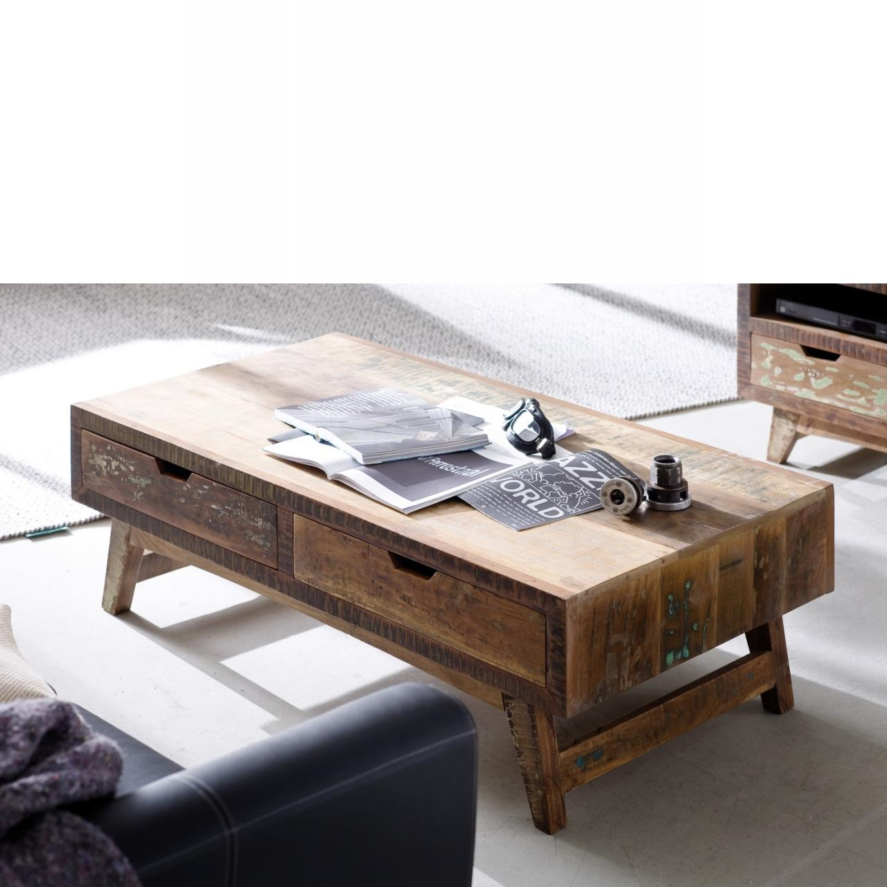 Couchtisch Malmö - Recyceltes Holz