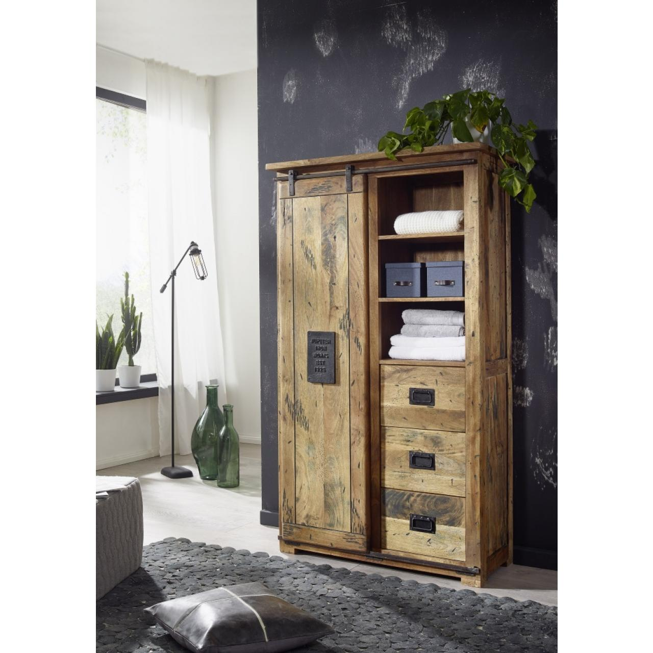 Highboard II 601 - Mangoholz