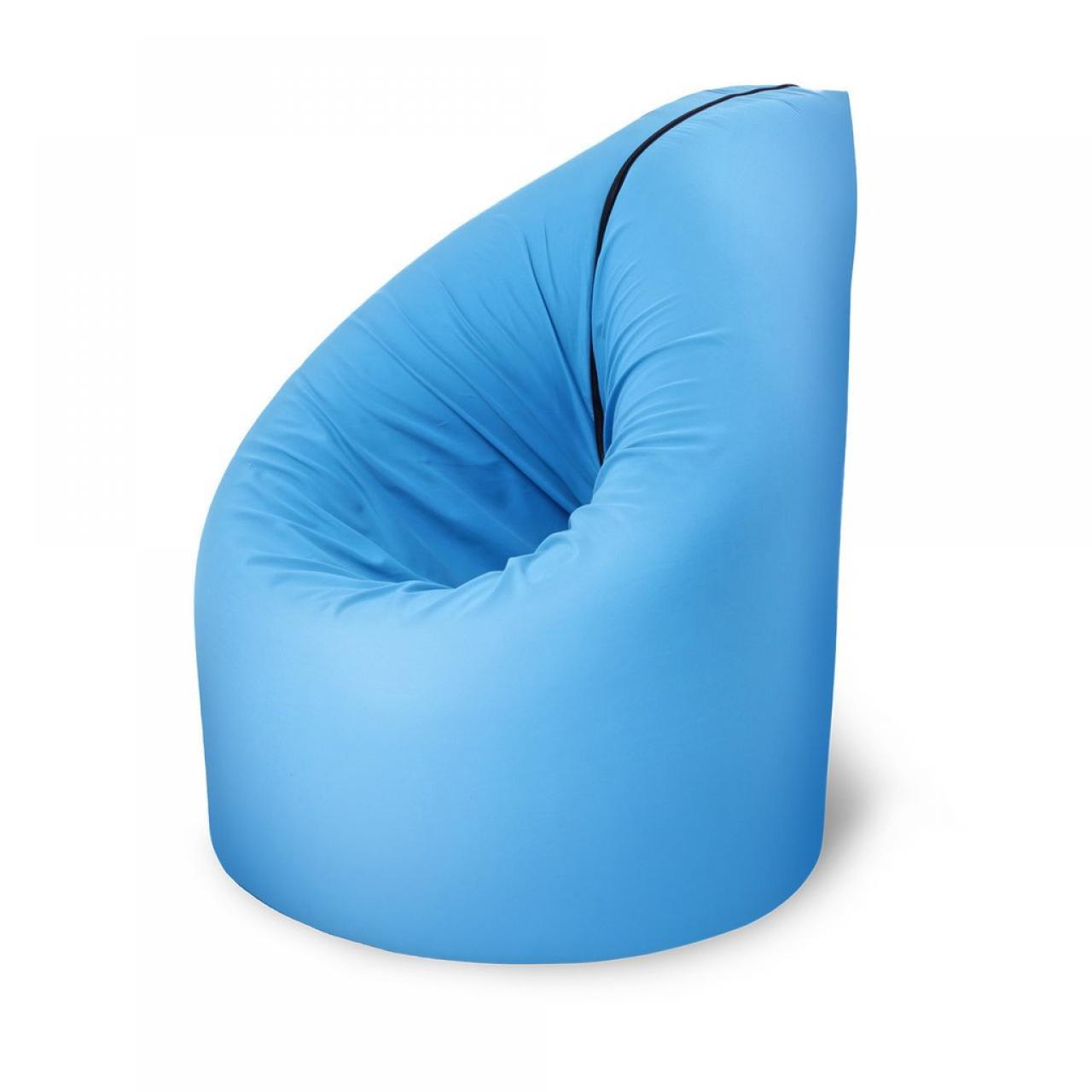 Paq Sitzsack/Bett blau