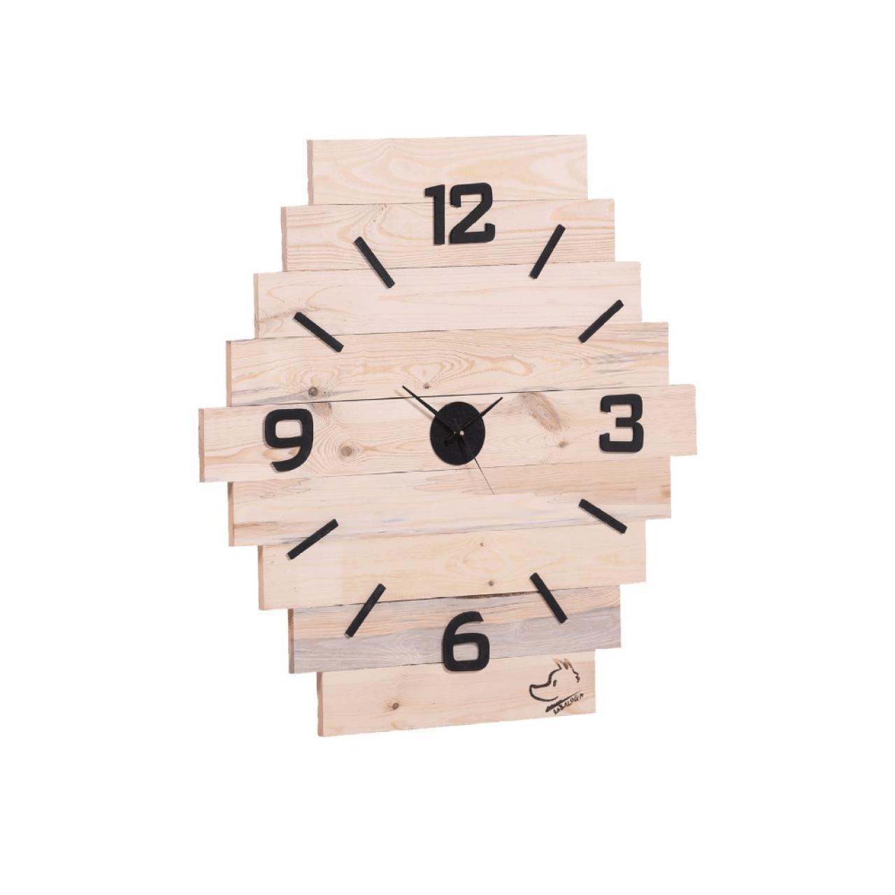 Uhr Tabaluga - Palettenholz