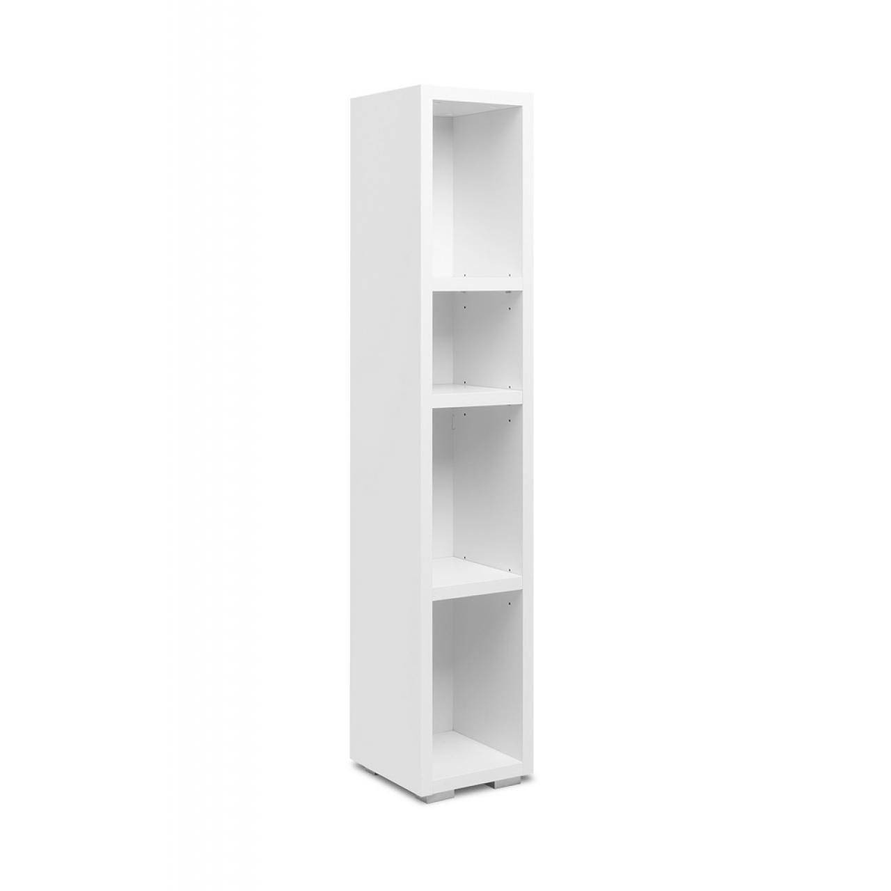 Regal Image 21 Weiß 3 Einlegeböden Bücherregal Aufbewahrung Aktenregal