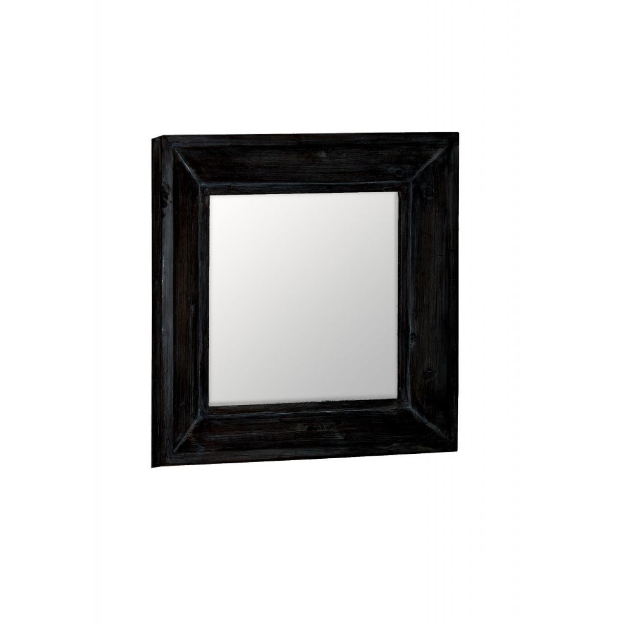 Spiegel Reflection 66328 schwarz tanne teilmassiv Wandspiegel Hängespiegel