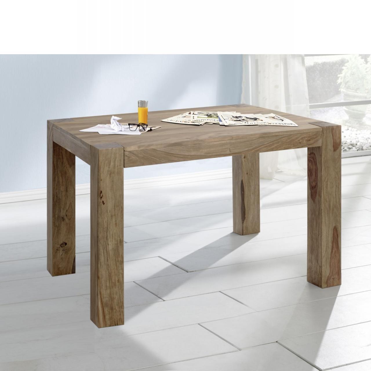 Esstisch Yoga 6516 Shisham Holz Massiv Natur Küchentisch Tisch