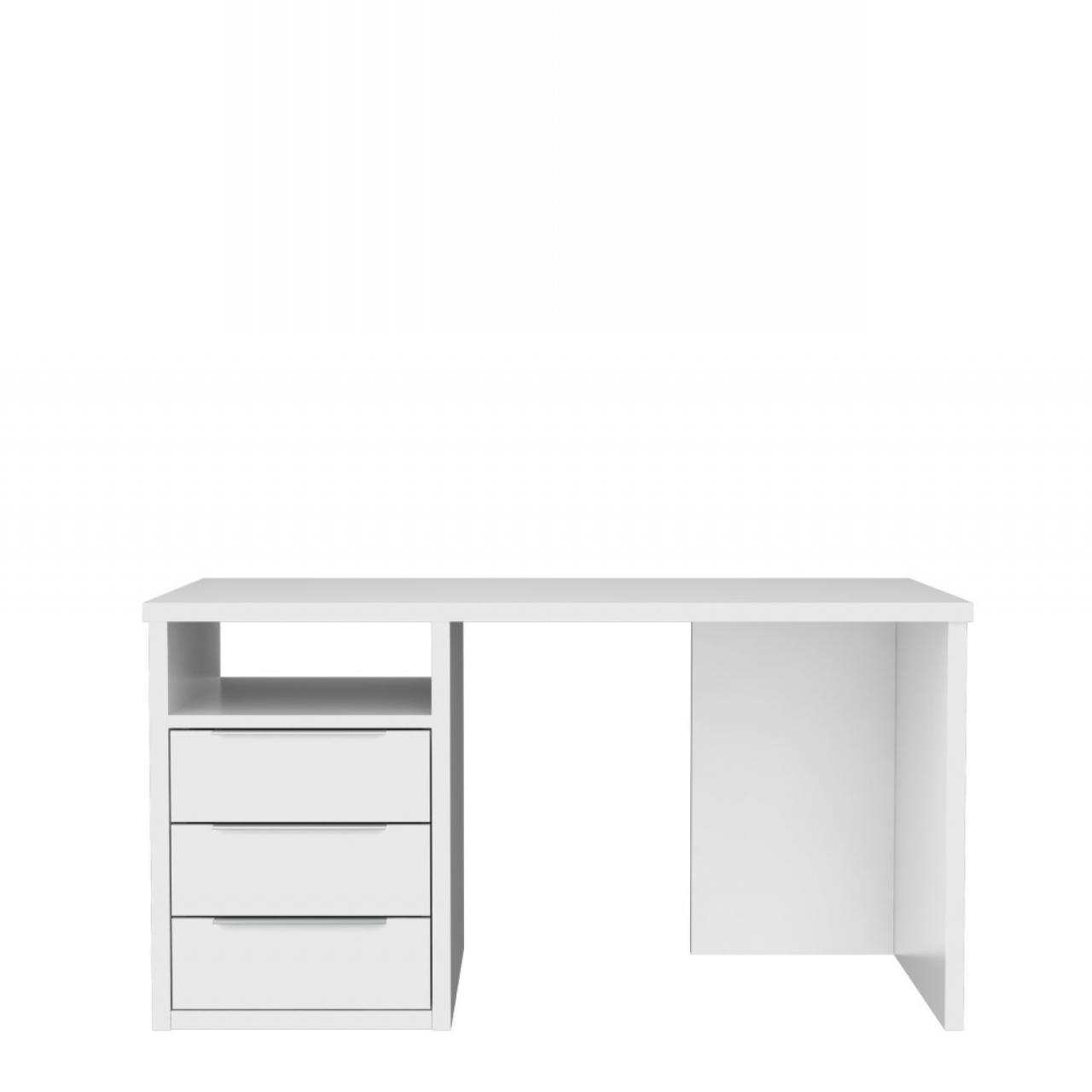 Schreibtisch Opus Weiß matt