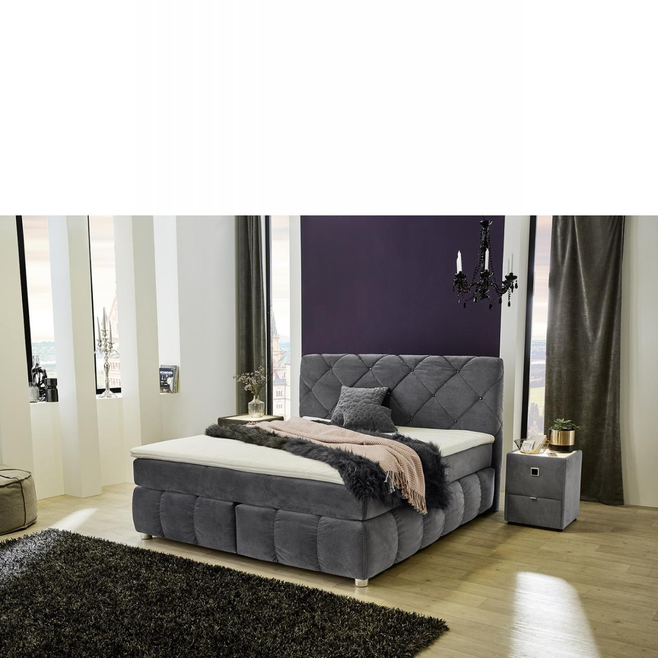 boxspringbett bella boxspringbett betten schlafen m bel j hnichen center gmbh. Black Bedroom Furniture Sets. Home Design Ideas