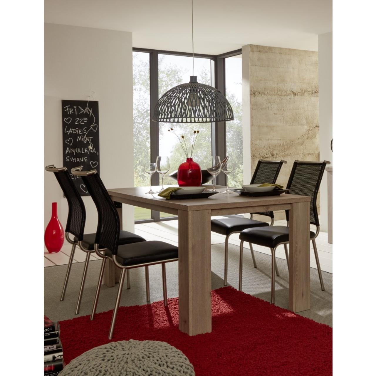 Esstisch Ameland Nelson Eiche Nb. MDF Küchentisch Tisch Esszimmertisch