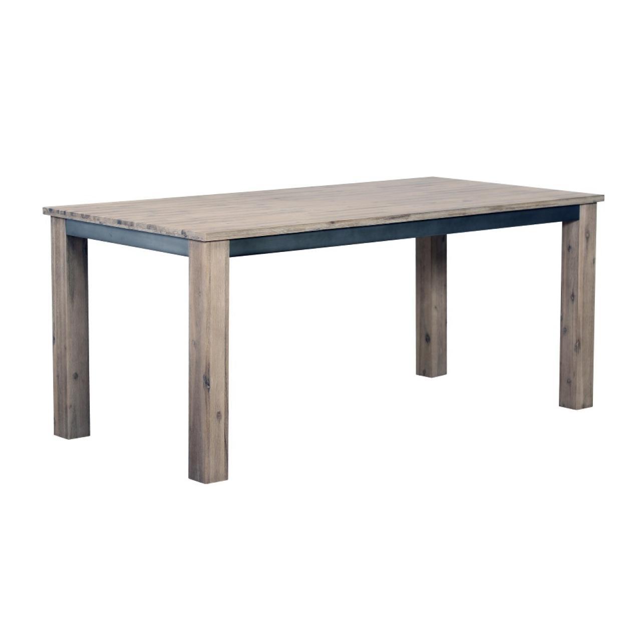 Esstisch RFD, Küchentisch, Tisch, Esszimmertisch, Akazienholz, ca. 180x90 cm