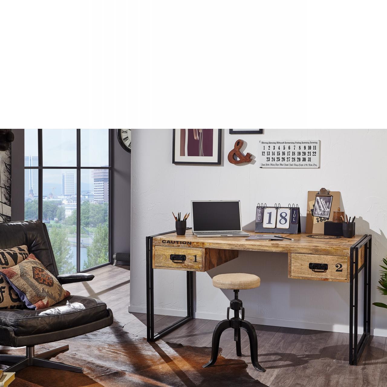 Schreibtisch Iron 3841