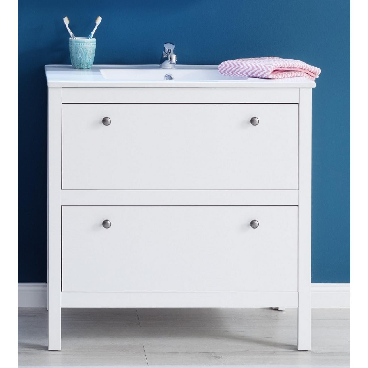 waschbeckenunterschrank ole wei badm bel wohnen m bel j hnichen center gmbh. Black Bedroom Furniture Sets. Home Design Ideas