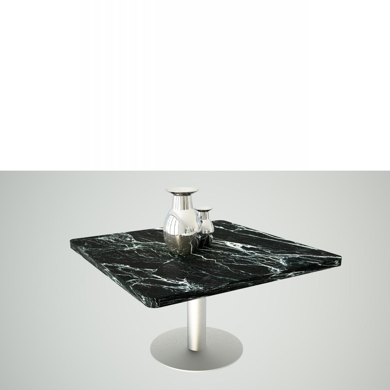 Couchtisch Concept in schwarz/weiß mit Marmor Optik