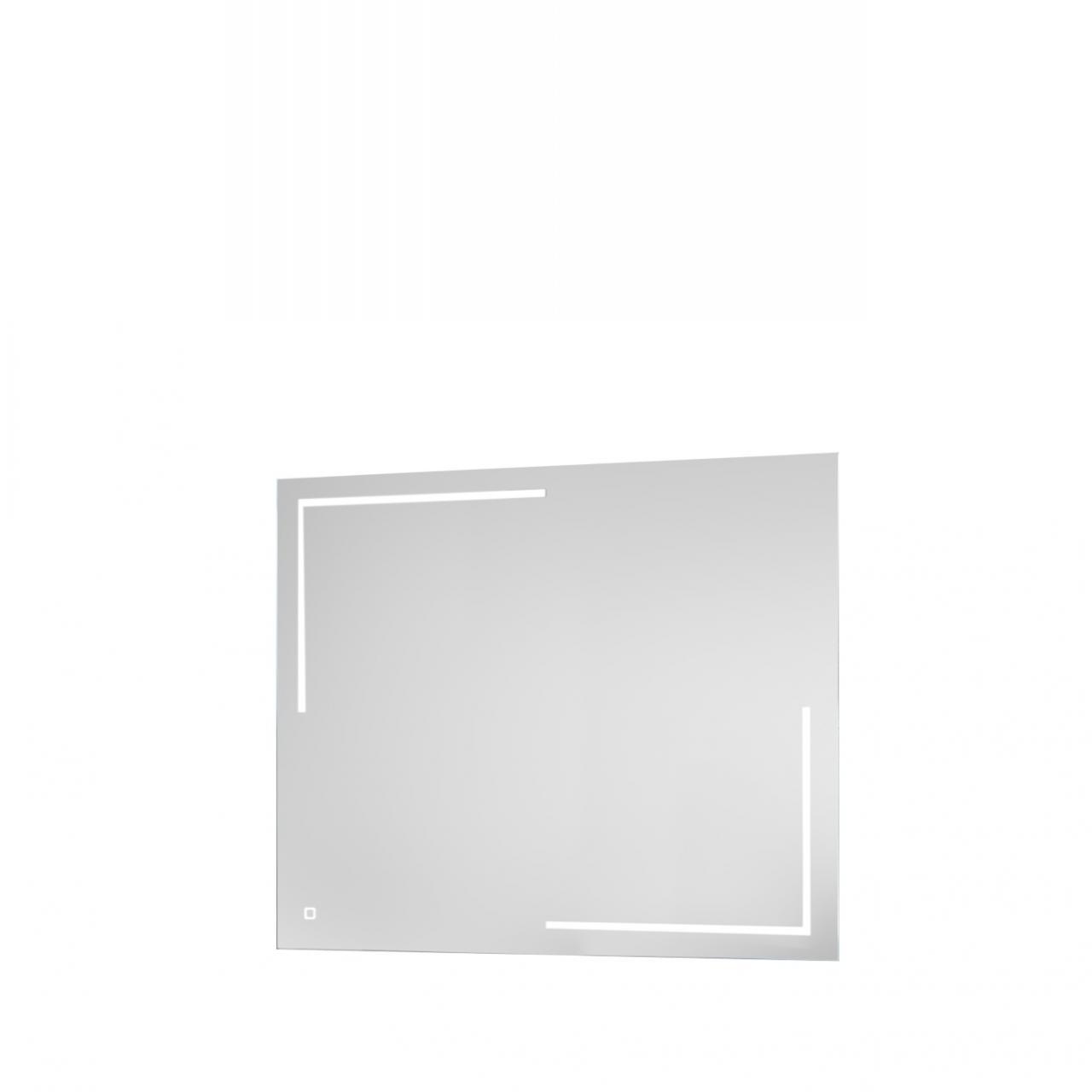 Spiegel 54-018 Wandspiegel Mit LED-Licht Touch Lichtschalter Badezimmerspiegel