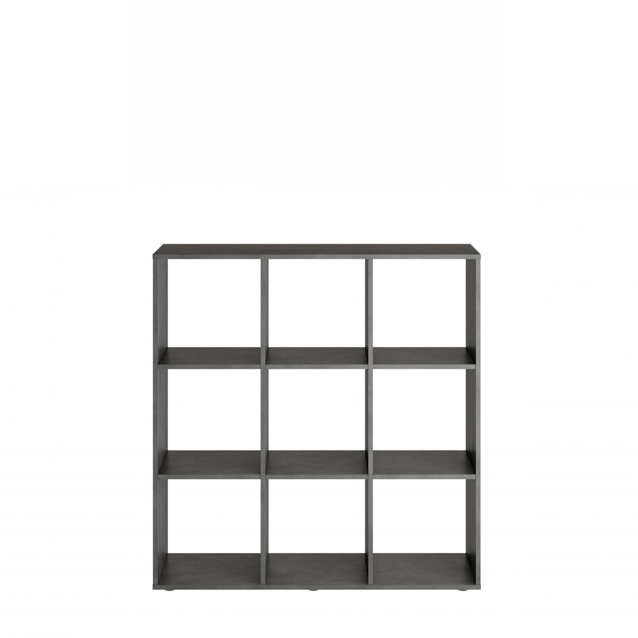 Standregal Bücherregal Mega 5 248-005 Matera 9 Fächer Fächerregal Raumteiler
