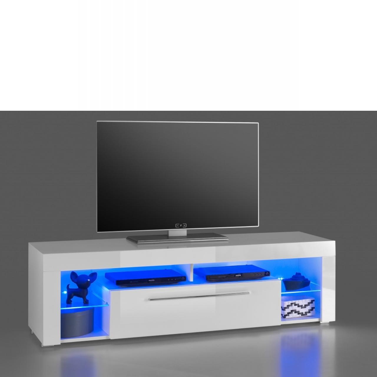 tv unterschrank levante beton optik 2 schubk sten. Black Bedroom Furniture Sets. Home Design Ideas