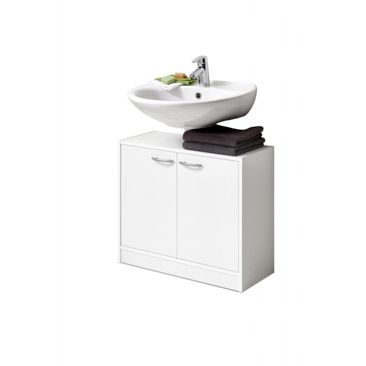 Waschbeckenunterschrank Marbella Weiss