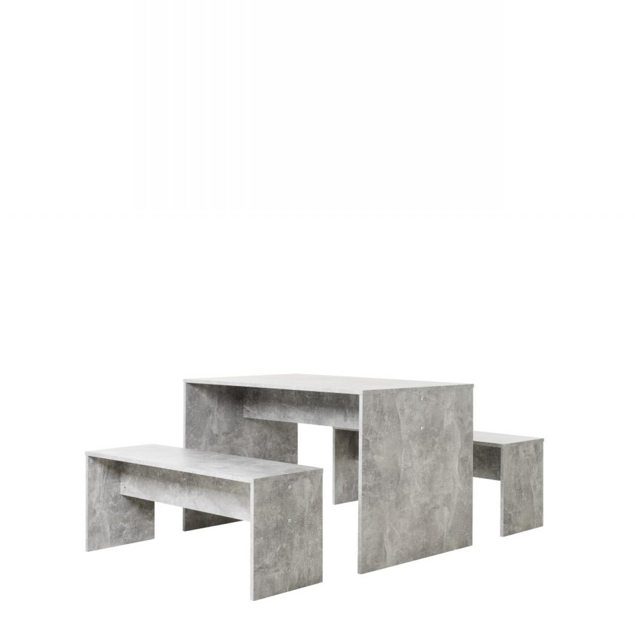 Tischgruppe - Berlin - Strukturbeton Nachbildung