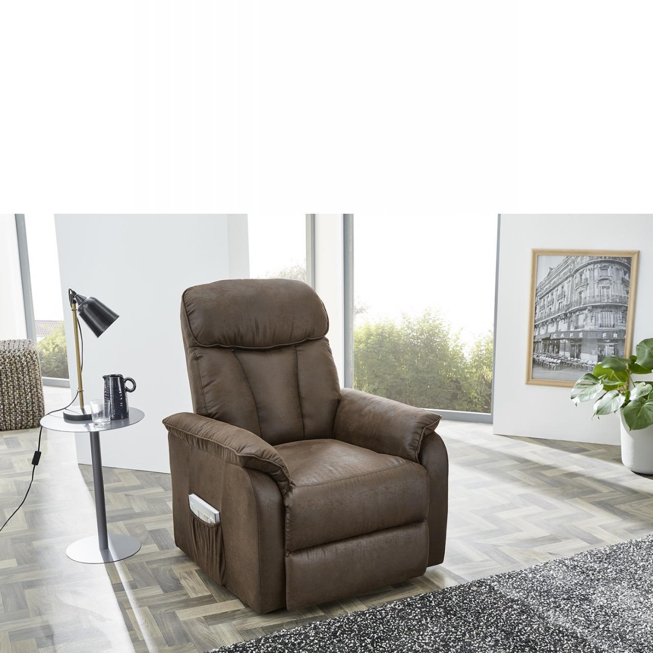 TV-Sessel Dorsten in braun