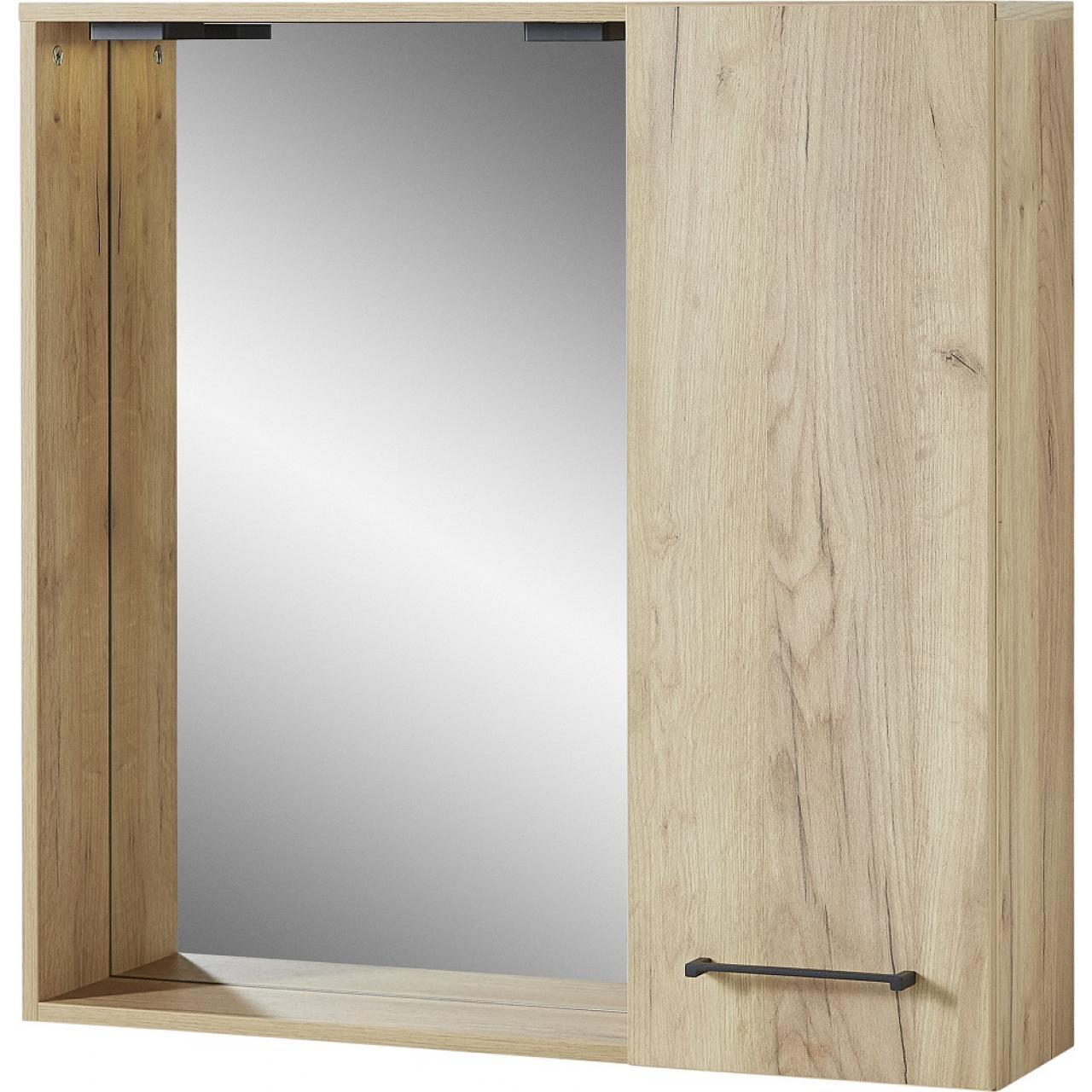 Spiegelschrank Gintano 8121 Badezimmer Badmöbel Eiche Navarro Nb ...