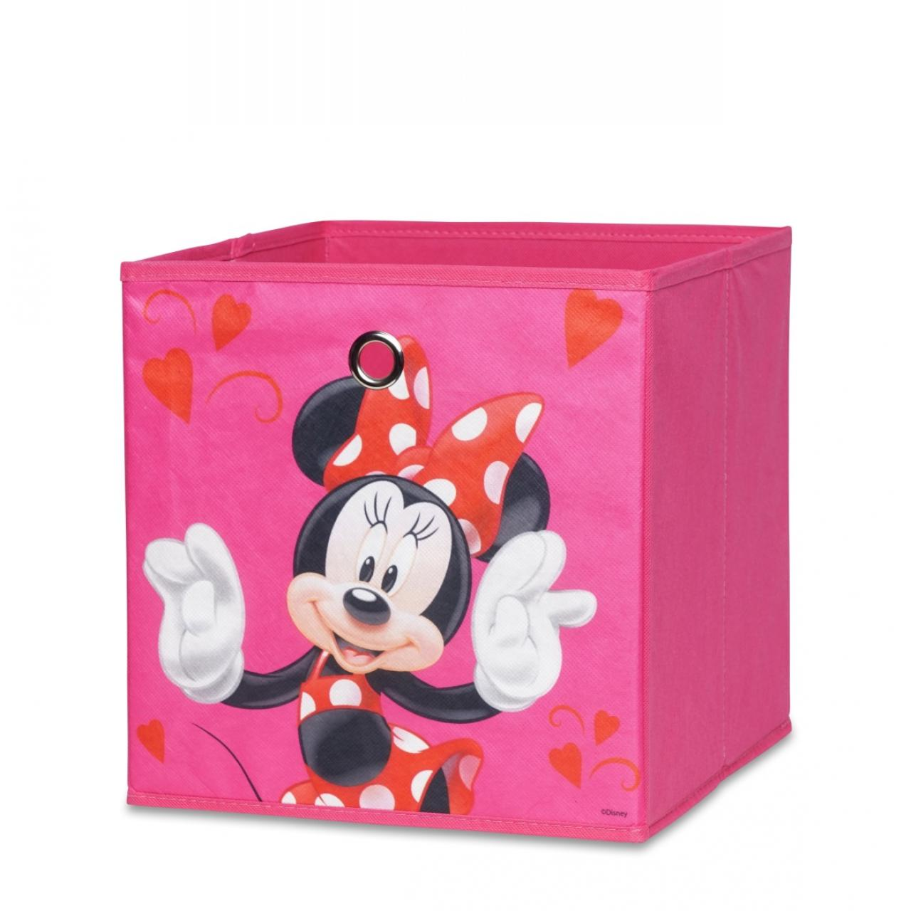 Faltbox Minnie Mouse - Motiv C - pink