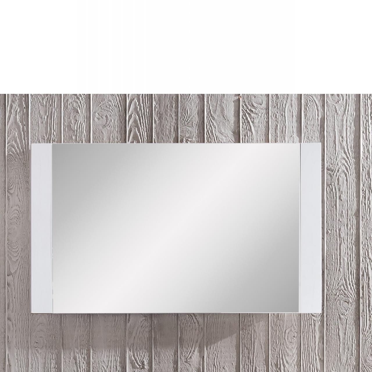 Garderobenwandspiegel Dakota - Weiß