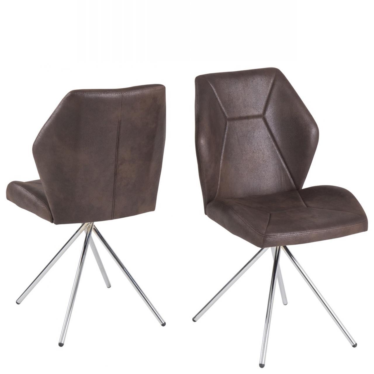 stuhl clarissa braun st hle hocker esszimmer. Black Bedroom Furniture Sets. Home Design Ideas