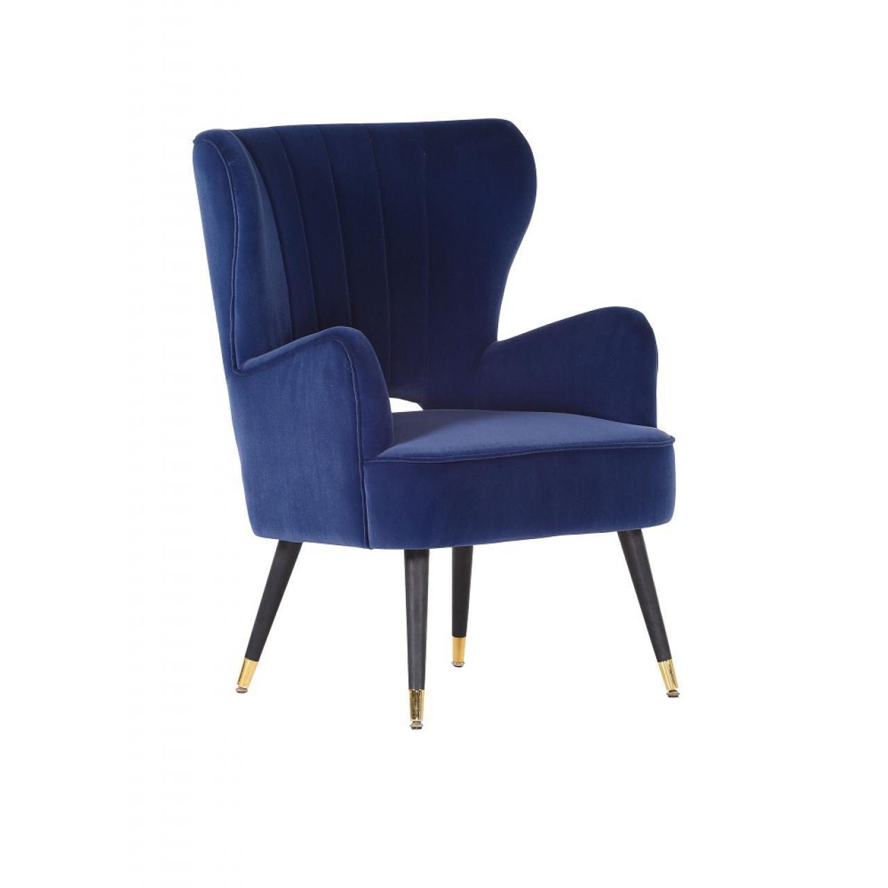 Sessel Performer Blau Modern Fernsehsessel Wohnzimmer Relaxsessel