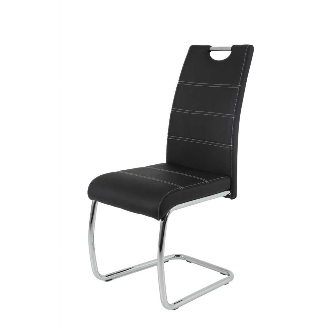 Stuhl Flora II S Esszimmerstuhl Küchenstuhl Stoff Vintage Optik Schwingstuhl