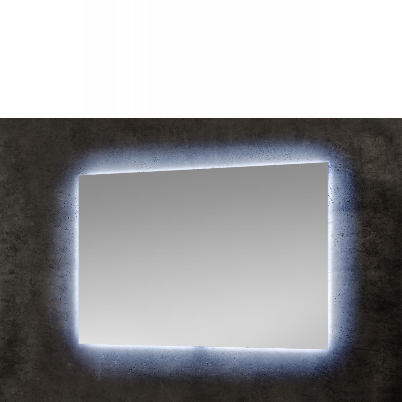 Spiegel 54-004 Mit LED-Licht Badezimmerspiegel Bad Gäste-WC Wandspiegel