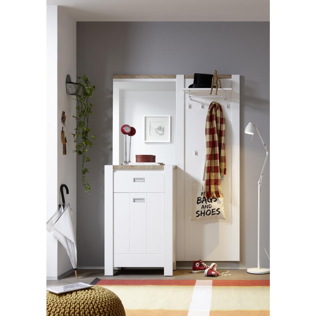 kompaktgarderobe melly garderoben wohnen m bel j hnichen center gmbh. Black Bedroom Furniture Sets. Home Design Ideas