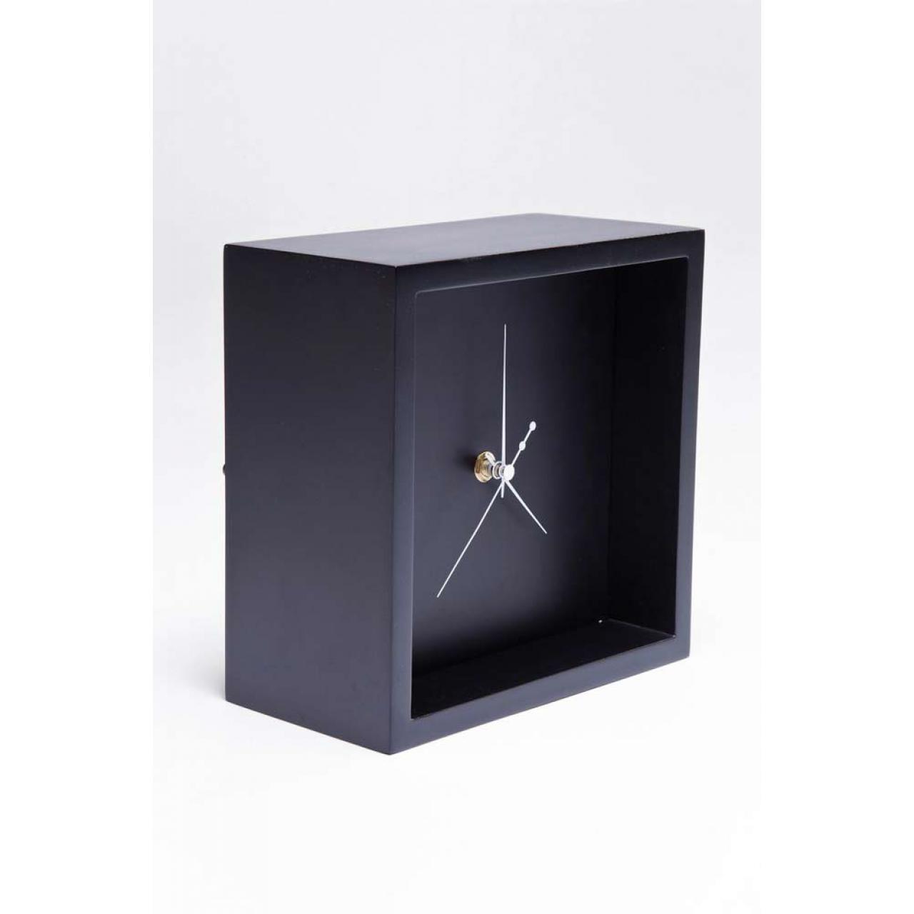 Tischuhr Pure Cube
