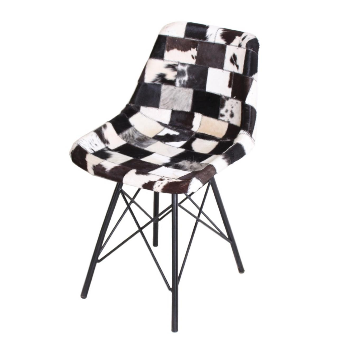 Stuhl Sit&Chairs - Kuhfell - Patchwork