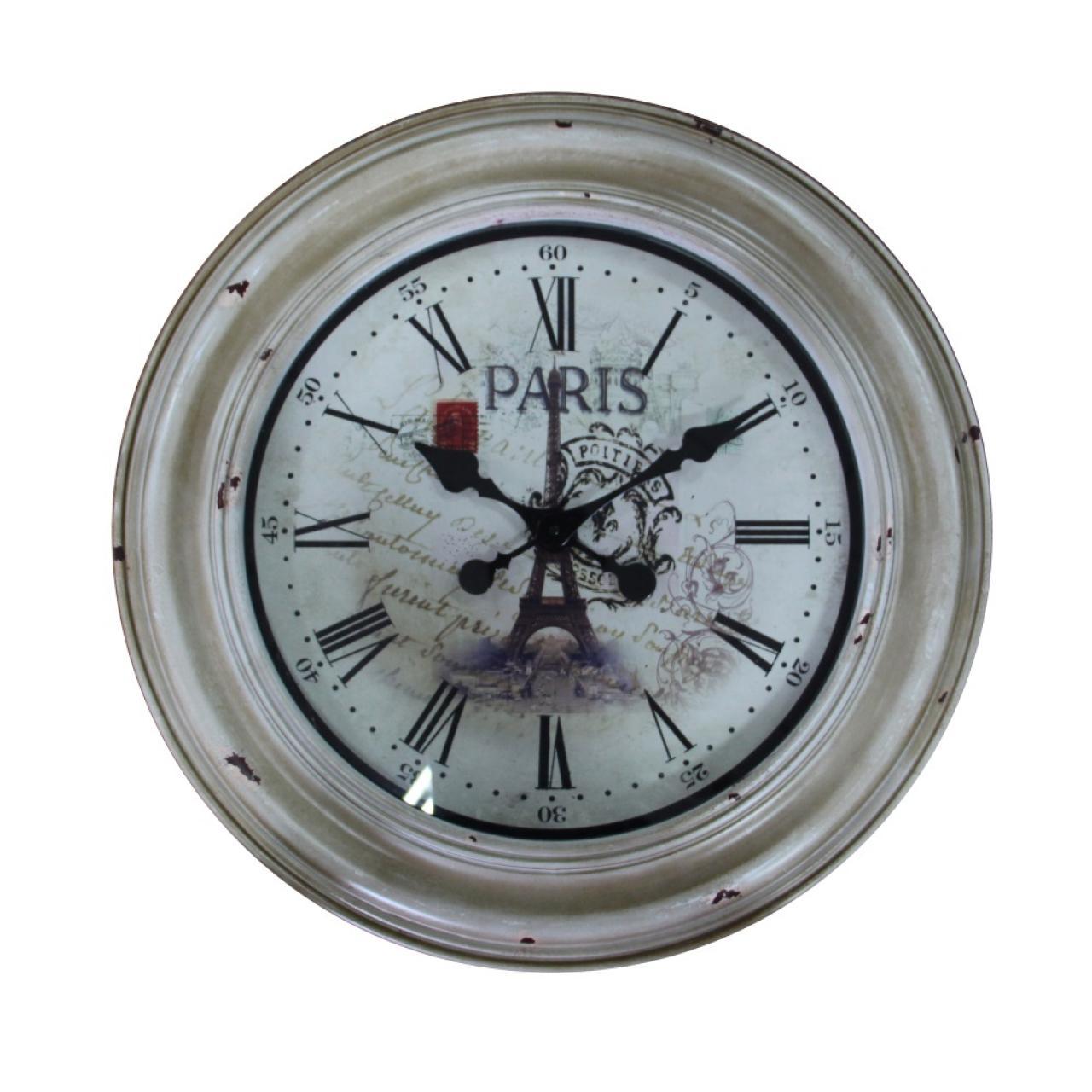 Uhr Paris im Vintage Look