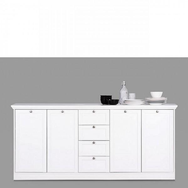 Sideboard Landwood Anrichte Kommode Wohnzimmerschrank Landhausstil Weiß