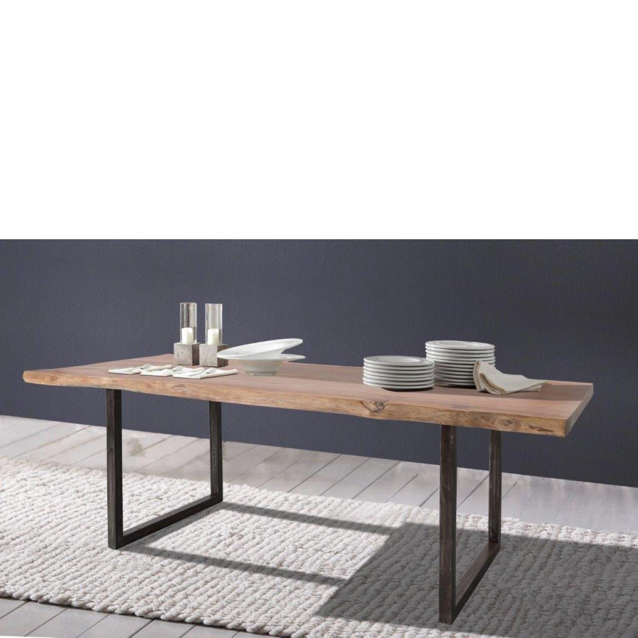 Esstisch Live Edge 6726-I Wolf Möbel Küchentisch Holztisch 200x90 cm