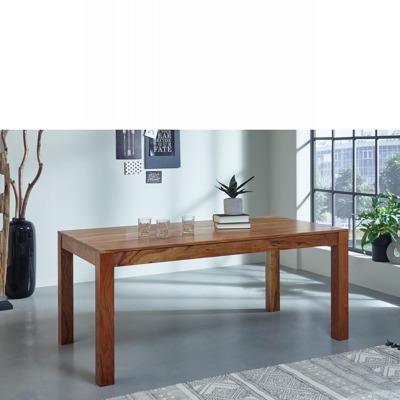 Esstisch Vision 2825 Acana Akazie Massiv Holz Küchentisch Esszimmertisch
