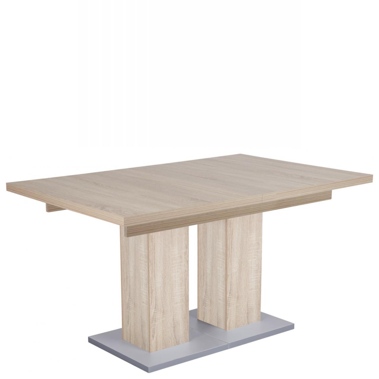 Esstisch Hamburg Mit 2 Einlegeplatten Sonoma Eiche Nb. Küchentisch Tisch