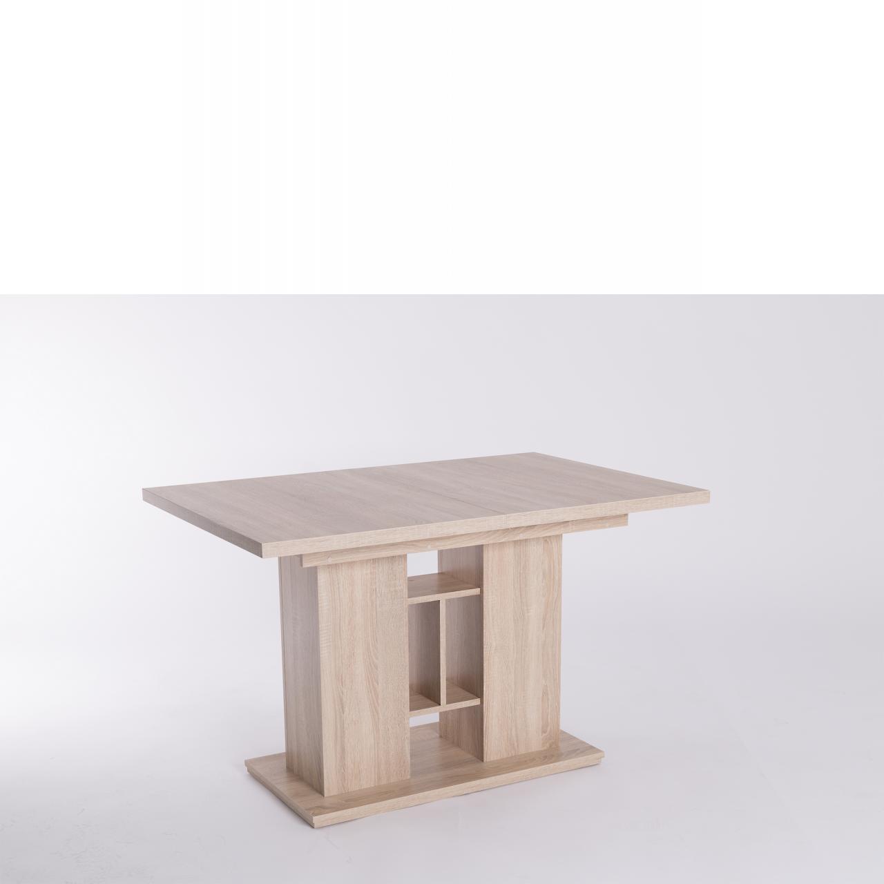 tisch sepp wotan eiche hirnholz wei esstische. Black Bedroom Furniture Sets. Home Design Ideas