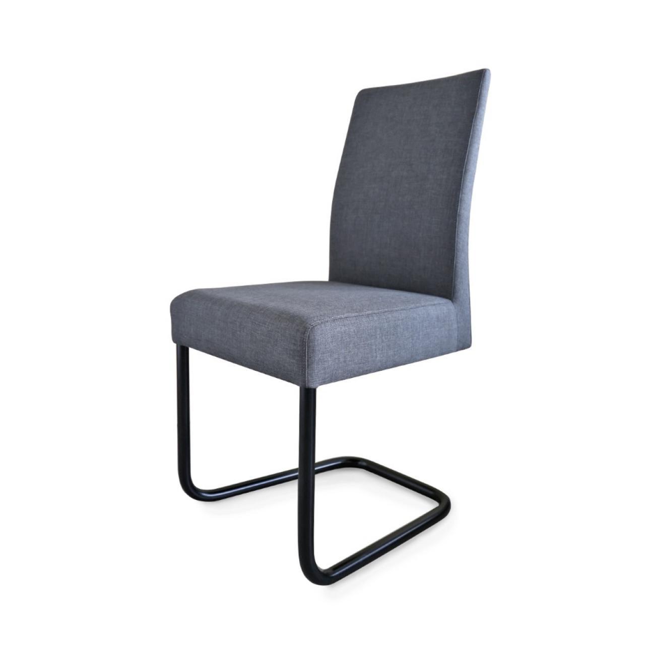 schwingstuhl kadira in anthrazit st hle hocker esszimmer wohnen m bel j hnichen center gmbh. Black Bedroom Furniture Sets. Home Design Ideas