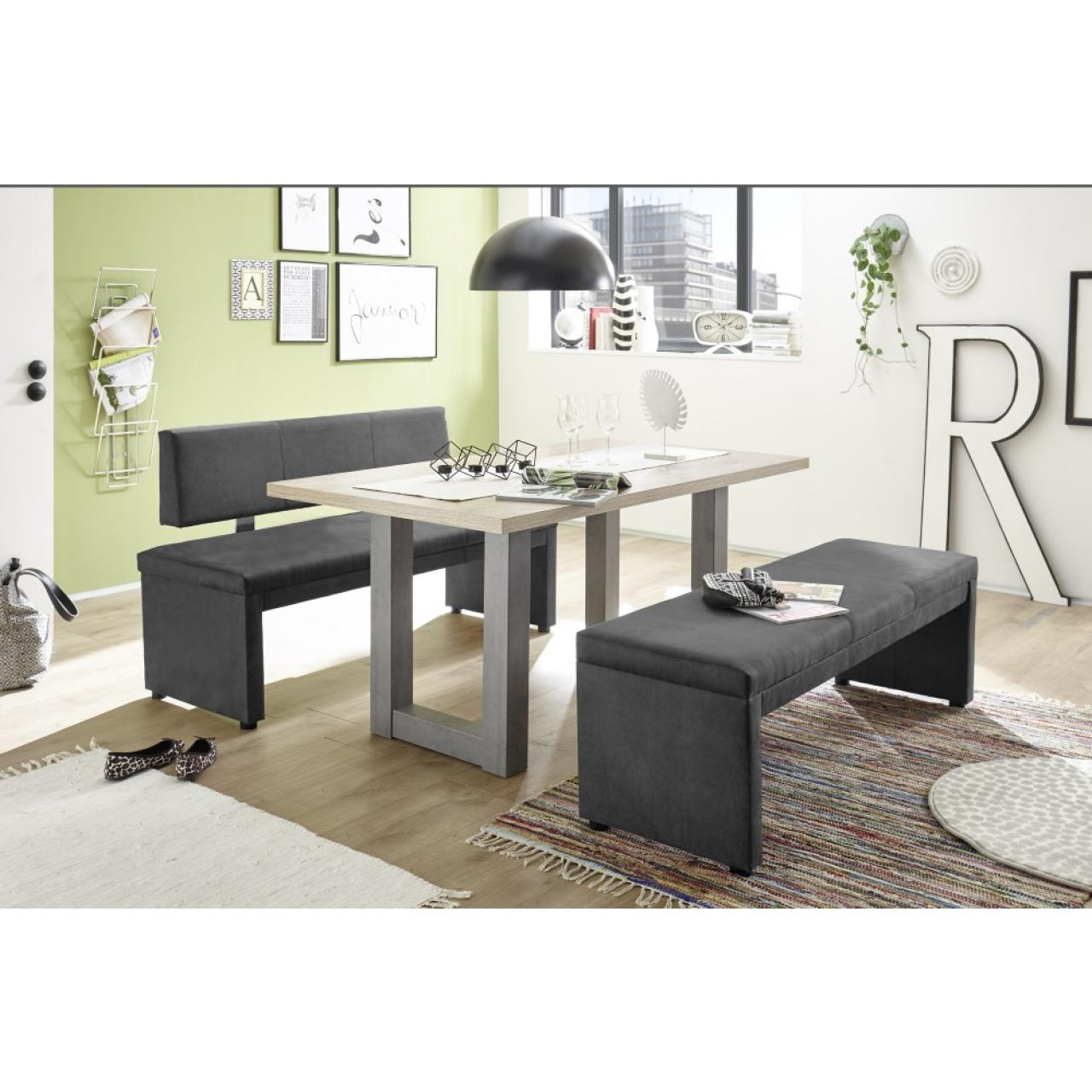 polsterbank malta wohnm bel anthrazit mit r ckenlehne m bel j hnichen center gmbh. Black Bedroom Furniture Sets. Home Design Ideas