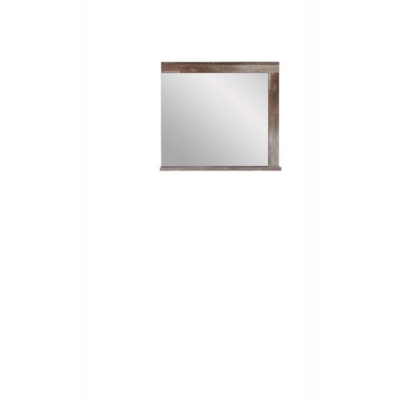 Spiegel Crown-X Mit Ablage Driftwood Nb. Flur Diele Garderobe Wohnzimmer Wandspiegel